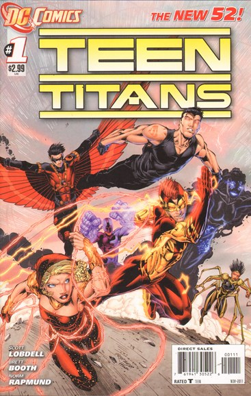 Teen Titans Cover - 11/1/2011