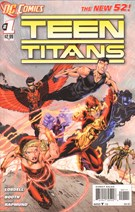 Teen Titans Comic 11/1/2011