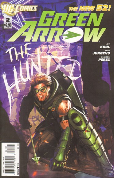 Green Arrow Cover - 12/1/2011
