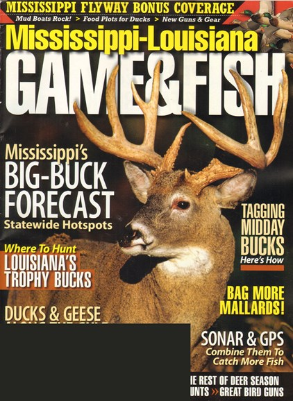 Mississippi Game & Fish Cover - 11/1/2011