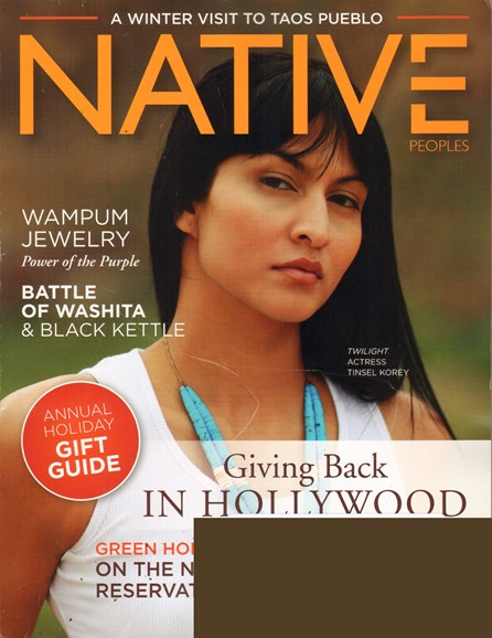 Native Peoples Cover - 11/1/2011