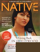 Native Peoples Magazine 11/1/2011
