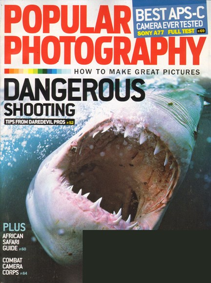 Popular Photography Cover - 11/1/2011