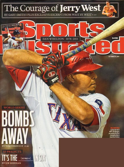 Sports Illustrated Cover - 10/24/2011