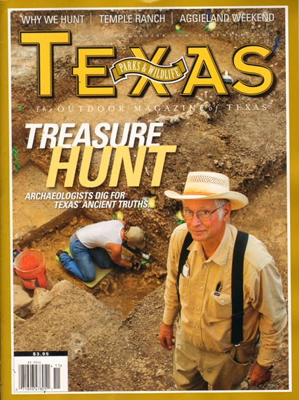 Texas Parks & Wildlife Cover - 11/1/2011