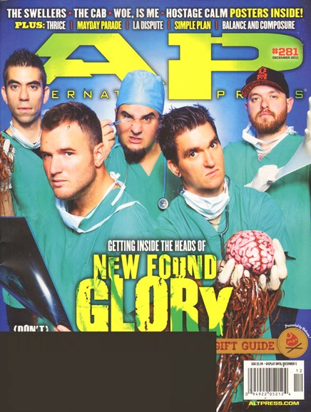 Alternative Press Cover - 12/1/2011