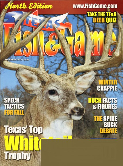 Texas Fish & Game Cover - 11/1/2011