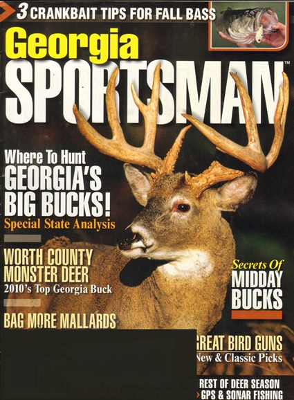 Georgia Sportsman Cover - 11/1/2011