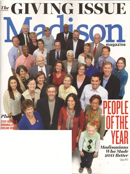 Madison Magazine Cover - 11/1/2011