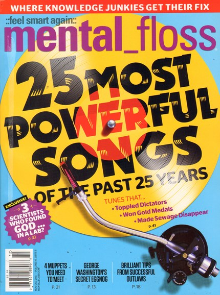 Mental Floss Cover - 11/1/2011