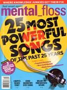 Mental Floss Magazine 11/1/2011