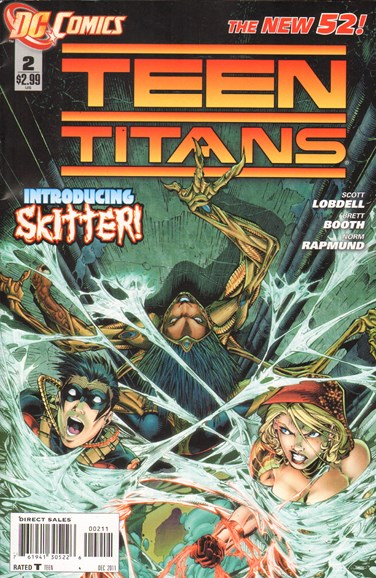 Teen Titans Cover - 12/1/2011