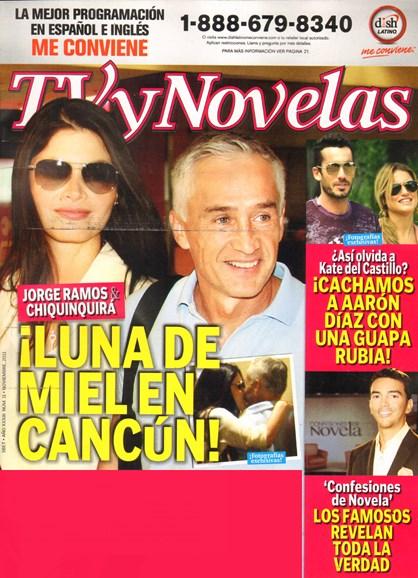 Tv Y Novelas Cover - 11/1/2011