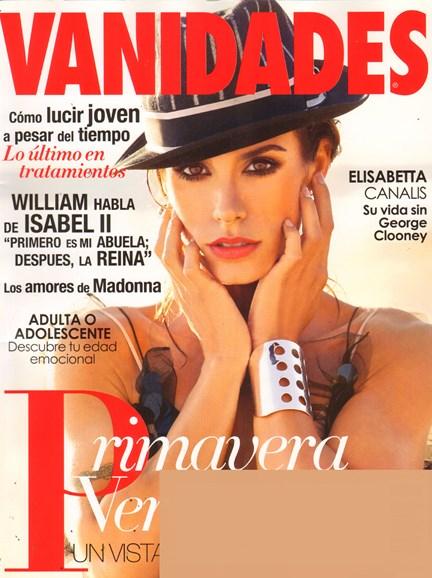 Vanidades Cover - 11/1/2011