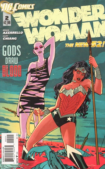 Wonder Woman Cover - 12/1/2011