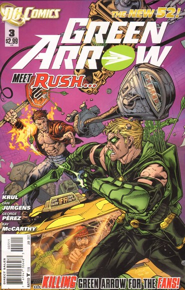 Green Arrow Cover - 1/1/2012