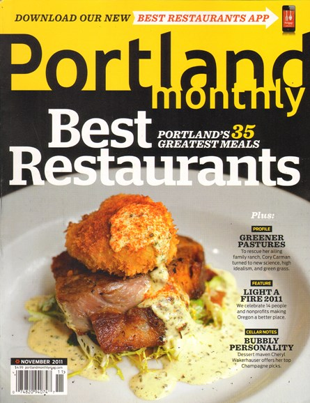 Portland Monthly Cover - 11/1/2011