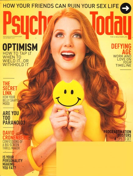 Psychology Today Cover - 12/1/2011