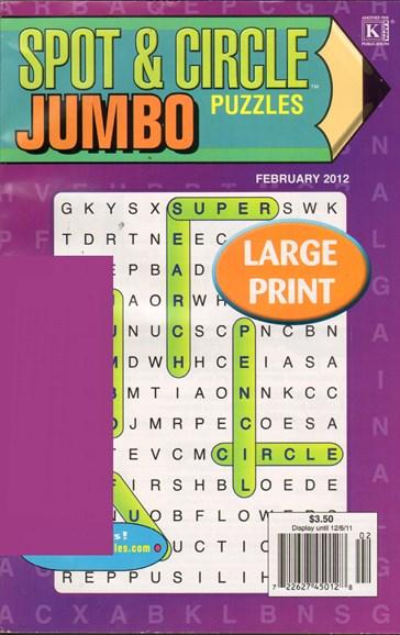 Spot & Circle Jumbo Cover - 12/1/2011