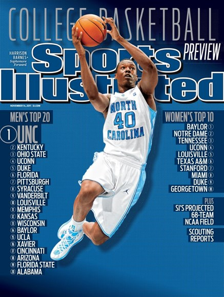 Sports Illustrated Cover - 11/14/2011