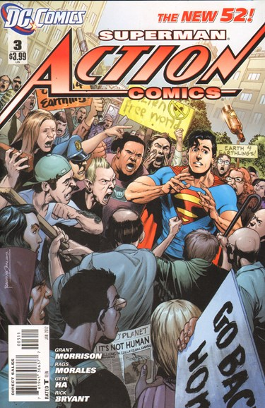 Action Comics Cover - 1/1/2012
