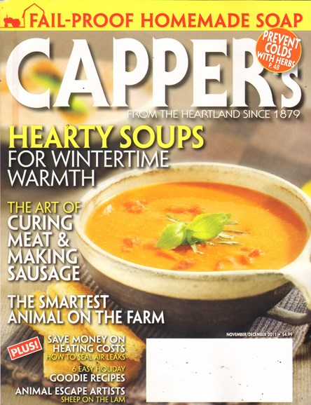 Capper's Cover - 11/1/2011