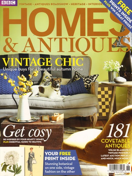 Homes & Antiques Cover - 12/1/2011