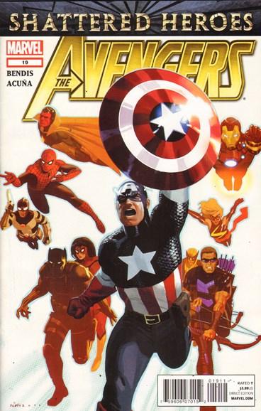 Avengers Cover - 12/1/2011