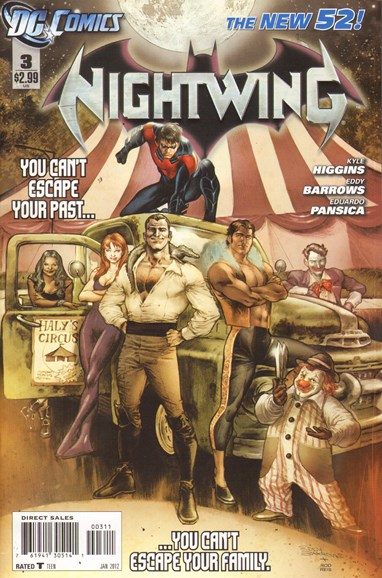 Nightwing Cover - 1/1/2012