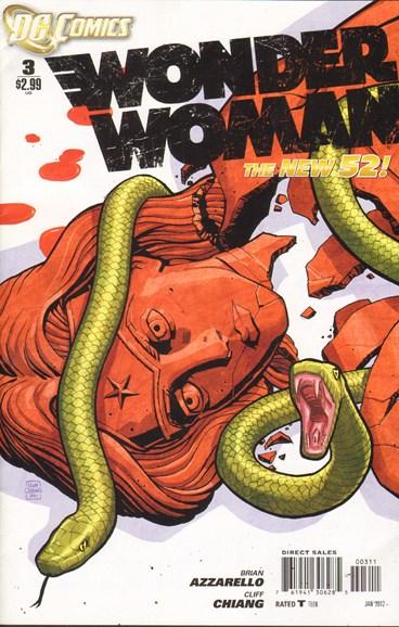 Wonder Woman Cover - 1/1/2012