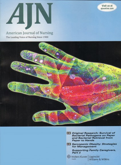 AJN The American Journal Of Nursing Cover - 12/1/2011