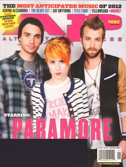 Alternative Press Cover - 1/1/2012