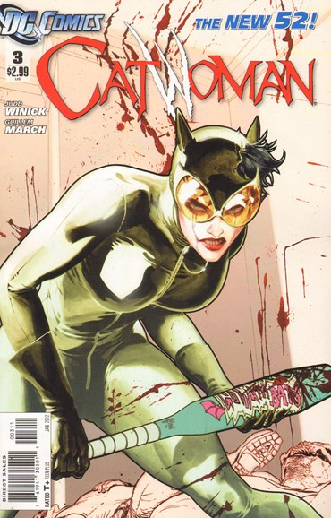 Catwoman Cover - 1/1/2012