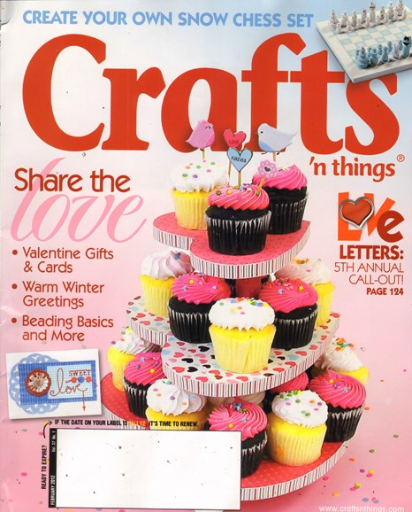 Craft Ideas Cover - 2/2/2011