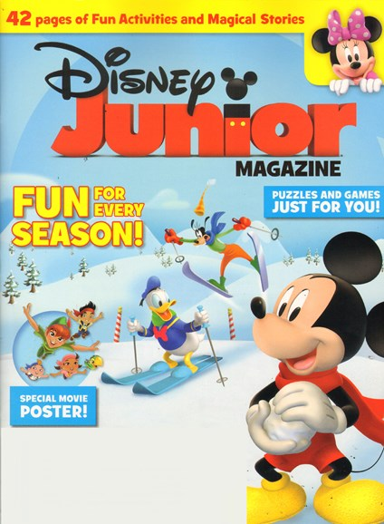 Disney Junior Cover - 1/1/2012
