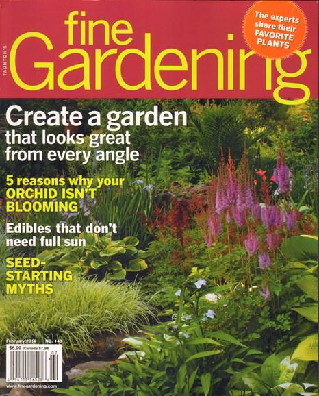 Fine Gardening Cover - 2/1/2012
