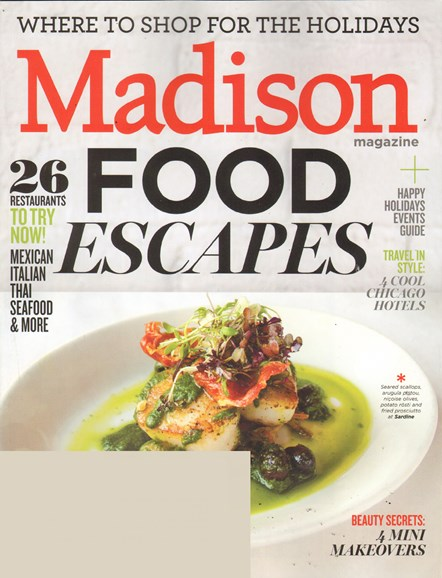 Madison Magazine Cover - 12/1/2011