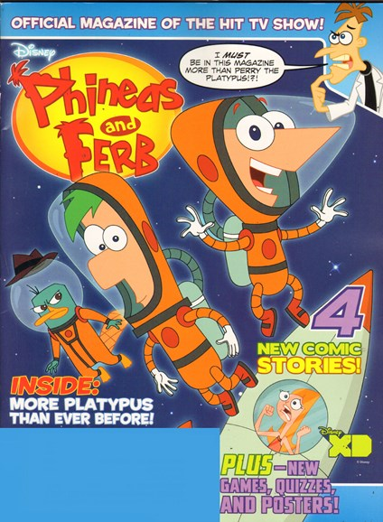 Disney Phineas & Ferb Cover - 1/1/2012