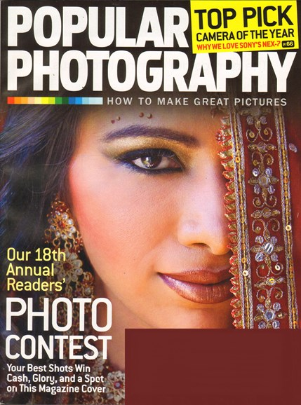 Popular Photography Cover - 1/1/2012