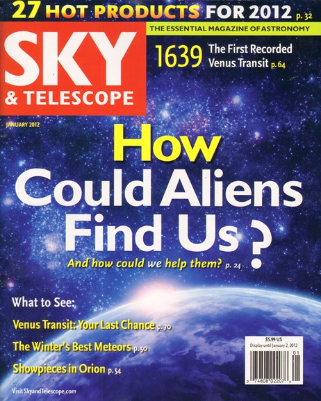 Sky & Telescope Cover - 1/1/2012