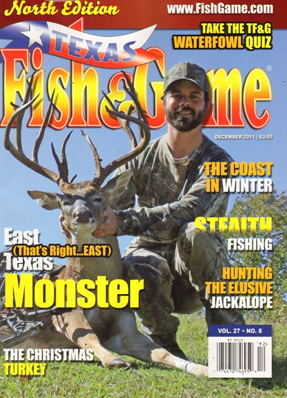Texas Fish & Game Cover - 12/1/2011