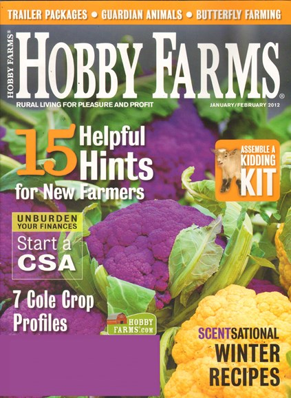 Hobby Farms Cover - 1/1/2012