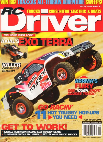 RC Driver Cover - 2/1/2012