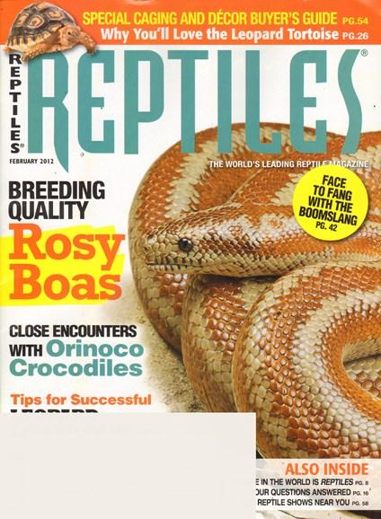Reptiles Cover - 2/1/2012