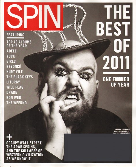 Spin Cover - 1/1/2012