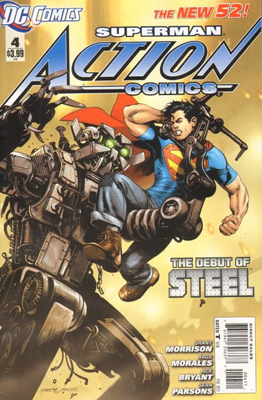 Action Comics Cover - 2/1/2012