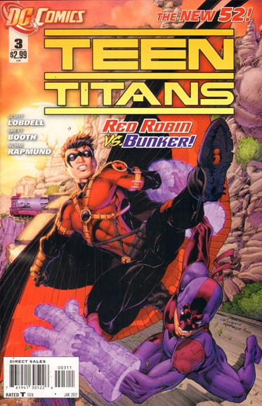 Teen Titans Cover - 1/1/2012