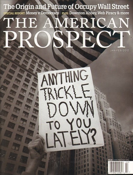 The American Prospect Cover - 1/1/2012