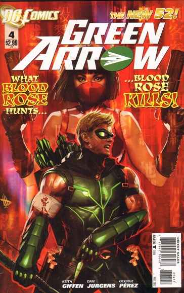 Green Arrow Cover - 2/1/2012