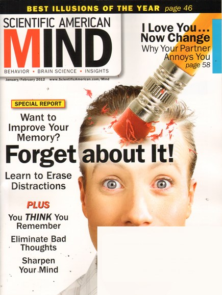 Scientific American Mind Cover - 1/1/2012